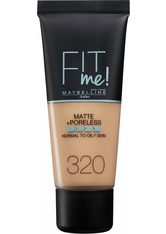 Maybelline Fit Me! Matte and Poreless Foundation 30ml (verschiedene Farbtöne) - 320 Natural Tan