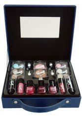 GLOSS! Make-up Set, 27-teilig mit u.a. Lippenstift, Nagellack und Lidschatten