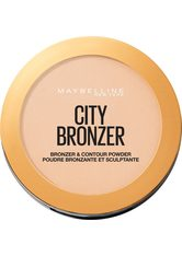 MAYBELLINE - Maybelline City Bronzer and Contour Powder 8g (Various Shades) - 100 Light Cool - CONTOURING & BRONZING