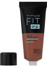 Maybelline Fit Me! Matte and Poreless Foundation 30ml (verschiedene Farbtöne) - 355 Pecan