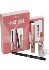 L'Oréal Paris All Natural  Augen Make-up Set 1 Stk NR. 107 - SCHWARZ/SCHWARZ/COCONUT PLUMP