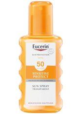 Eucerin Sonnenschutz Sun Spray Transparent LSF 50 Sonnencreme 200.0 ml