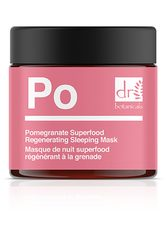 Dr Botanicals Produkte Dr Botanicals Produkte Granatapfel Superfood regenerierende Schlafmaske Schlafmaske 60.0 ml