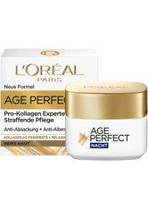L´Oréal Paris Age Perfect Pro-Kollagen Experte Nachtcreme mit Kollagen-AS-Fragmenten Gesichtscreme 50.0 ml