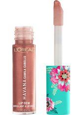 L'ORÉAL PARIS - L'ORÉAL PARIS L'Oréal Paris, »Camila Cabello Lip Dew«, Lip Gloss, rosa, 6,3 ml, 04 Lit Up - LIPGLOSS