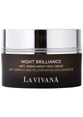 LA VIVANA - LA VIVANA Night Brilliance Anti-Aging Night Cream 50 Milliliter - NACHTPFLEGE