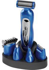 PROFICARE - ProfiCare Körper- und Bikinitrimmer PC-BHT 3015, Multifunktionelles Haarschneidegerät für Gesichts- und Körperhaare, blau, blau - HAARSCHNEIDER & TRIMMER