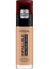 L'Oréal Paris Infaillible 24H Fresh Wear Make-up 150 Beige Eclat Foundation 30ml Flüssige Foundation