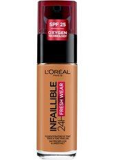 L'Oréal Paris Infaillible 24H Fresh Wear Make-up 330 Hazelnut Foundation 30ml Flüssige Foundation
