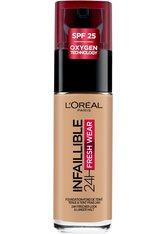 L'Oréal Paris Infaillible 24H Fresh Wear Make-up 135 Vanille Eclat Foundation 30ml Flüssige Foundation