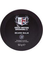 THE GREAT BRITISH GROOMING CO. - The Great British Grooming Co. Pflege Bartpflege Beard Balm 50 g - BARTPFLEGE