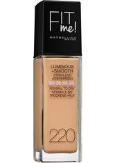 MAYBELLINE - MAYBELLINE NEW YORK Make-up »FIT ME«, natur, 220 natural beige - FOUNDATION