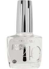 MAYBELLINE - MAYBELLINE NEW YORK Nagellack »Express Finish Shock Control«, weiß, Nr. 1 transparent - BASE & TOP COAT