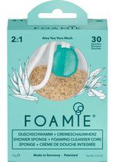 FOAMIE - Foamie 2in1 Duschschwamm + Cremeschaumherz Aloe You Vera Much - DUSCHEN & BADEN