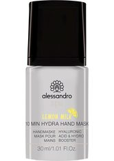 ALESSANDRO - alessandro International Spa 10 Min Hydra Hand Mask Lemon Milk 30 ml - PEELING & MASKE