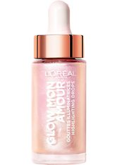 L'ORÉAL PARIS - L'ORÉAL PARIS Highlighter »Glow Mon Amour Highlighting Drops«, silberfarben, Icoconic Glow - Highlighter