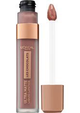 L'Oréal Paris Les Chocolats Ultra Matte Liquid Lipstick (verschiedene Farbtöne) - 852 Box of Chocolates