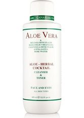 CANARIAS COSMETICS - canarias cosmetics Canarias Cosmetics, »Aloe - Herbal Cocktail«, Reinigungslotion, 400 ml - CLEANSING