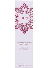 Ren Clean Skincare Produkte Moroccan Rose  Body Lotion Körpermilch 200.0 ml