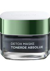 L'ORÉAL PARIS - L'ORÉAL PARIS Gesichtsmaske »Tonerde Absolue Detox (black)«, mit Aktivkohle - CREMEMASKEN