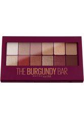 MAYBELLINE NEW YORK Lidschatten »The Burgundy Bar«, Schimmernde Burgunder-Töne