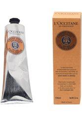 L'OCCITANE Fußpflegecreme »Karité Créme Pieds«, silberfarben, 150 ml, 150 ml, silberfarben,dunkelgelb