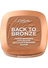 L'ORÉAL PARIS - L'Oréal Paris Matte Bronzing Powder - Back To Bronze 9 g - CONTOURING & BRONZING