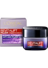 L'Oréal Paris Revitalift Filler [+Hyaluronsäure] Intensiv Aufpolsternde Anti-Age Nachtpflege 50 ml Nachtcreme