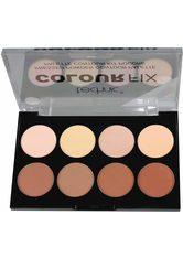 TECHNIC - technic , »Colour Max Contour 2«, Contour-Palette, 8-tlg. Set - LIDSCHATTEN