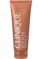 CLINIQUE - Clinique Sonnen und Körperpflege Sonnenpflege Body Tinted Lotion Medium-Deep 125 ml - Selbstbräuner