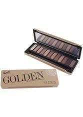 GLOSS! Lidschatten-Palette »Golden Nudes«, 13-teilig mit Spiegel