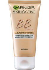 GARNIER - GARNIER SkinActive BB Cream Miracle Skin Perfector 5 in 1 Blemish Balm LSF 15 BB Cream  50 ml Mittel Bis Dunkel - BB - CC CREAM