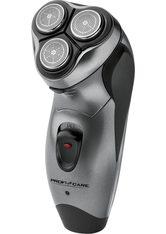 ProfiCare Haarschneider PC-HR 3053, 3-fach-Schersystem mit flexiblen Scherköpfen für eine schnelle und präzise Rasur