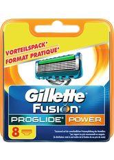 GILLETTE - Gillette Rasierklingen »Fusion Proglide Power«, 8-tlg., blau, blau - RASIER TOOLS