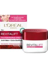 L'Oréal Paris Revitalift Feuchtigkeitspflege ohne Parfum mit Probiotika Gesichtscreme  50 ml