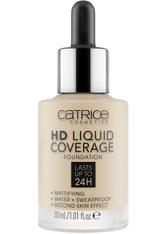 Catrice Teint Make-up HD Liquid Coverage Foundation Nr. 010 Light Beige 30 ml