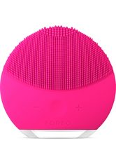 FOREO LUNA Mini 2 Dual-Sided Face Brush for All Skin Types (Various Shades) - Fuchsia