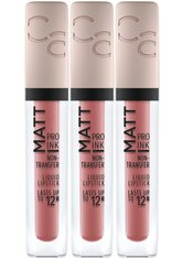 Catrice Lippenstift »Matt Pro Ink Non-Transfer Liquid Lipstick«, 3-tlg.