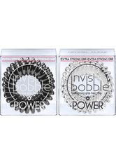 INVISIBOBBLE - invisibobble Spiral-Haargummi »Power«, Set, 6-tlg., True Black & Crystal Clear - HAARBÄNDER & HAARGUMMIS