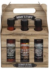 MAN'STUFF - MAN'STUFF Körperpflege-Set »Ultimate Sixpack«, 6-tlg. - KÖRPERCREME & ÖL