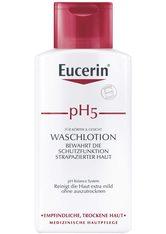 EUCERIN - Eucerin pH5 Hautschutz Waschlotion + gratis Eucerin Sun Sensitive Protect LSF30 75ml 200 Milliliter - DUSCHEN & BADEN