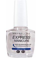 Maybelline New York Express Manicure Schnelltrocknender Überlack