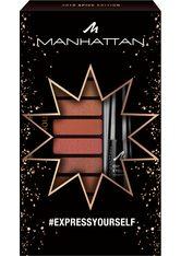 Manhattan Eyemazing #Expressyourself Augen Make-up Set 1 Stk Nr. 010 - Spice Edition + Nr. 1010N - Black