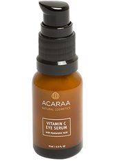 ACARAA Naturkosmetik Augenserum »Vitamin C Hyaluron Augencreme«, mit Koffein gegen Augenringe