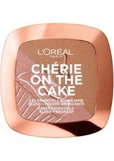 L'ORÉAL PARIS - L'Oréal Paris Chérie On The Cake Blush & Bronzer Bronzingpuder  Nr. 01 - Cherry Fever - Contouring & Bronzing