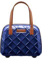 STRATIC - Stratic Beauty Case, »Leather & More«, blau, Blue - KOSMETIKTASCHEN & KOFFER