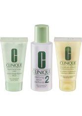 Clinique 3-Phasen-Systempflege Set Hauttyp 2 =  Liquid Facial Soap + Clarifying Lotion 2 + DDML Gesichtspflege 1.0 pieces