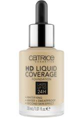 Catrice HD Liquid Coverage Flüssige Foundation  Nr. 036 - Hazelnut Beige