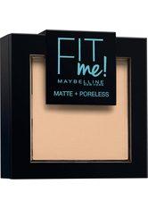 MAYBELLINE - Maybelline Fit Me Matte & Poreless Powder (verschiedene Farbtöne) - 115 Ivory - Gesichtspuder