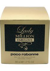 Paco Rabanne - Lady Million Fabulous - Eau De Parfum - -lady Million Fabulous Edp 50ml
